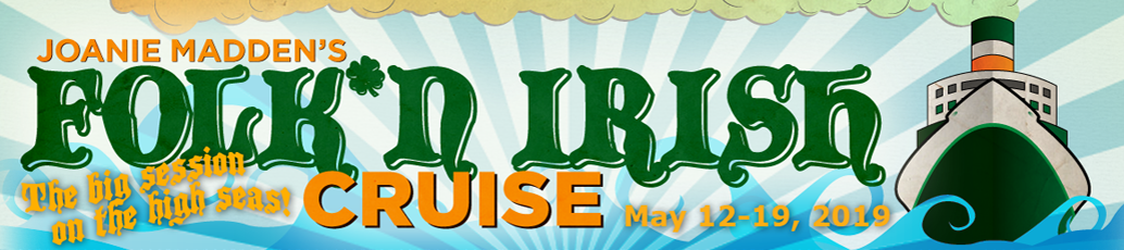 Gerry Timlin @ May 12th to 19th Performing on the Joanie Madden's Folk 'N Iriash Cruise to Bermuda